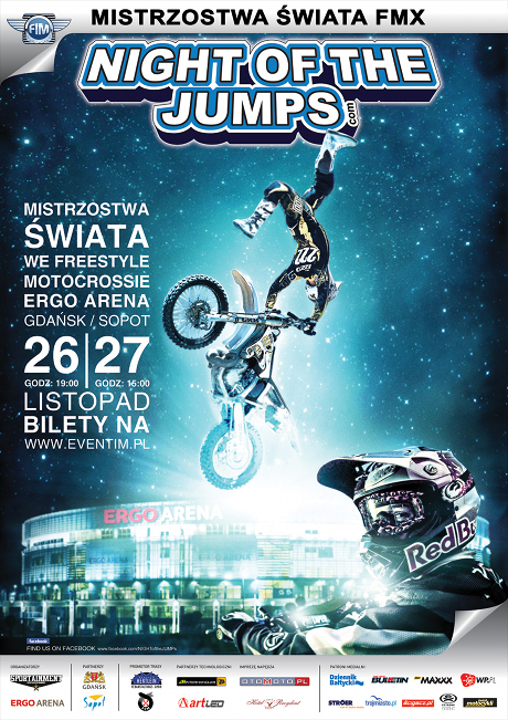night of the jump plakat
